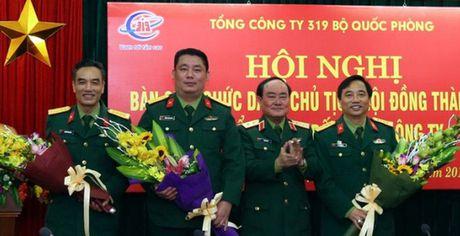 Thay doi nhan su chu chot o Tong cong ty 319 Bo Quoc phong - Anh 1