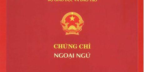 Giao vien khong can chay don, chay dao hoc chung chi ngoai ngu - Anh 1