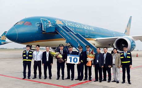 Vietnam Airlines da co 10 chiec Boeing 787 Dreamliner - Anh 1