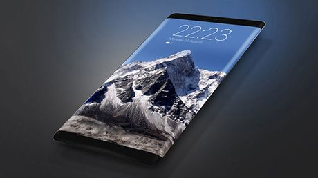 iPhone voi man hinh OLED cong ra mat nam 2017 - Anh 1