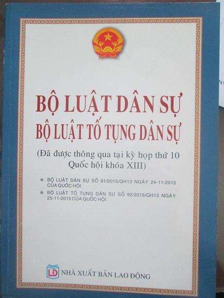 NXB Lao dong khang dinh bi mao danh trong viec xuat ban cuon sach luat - Anh 1