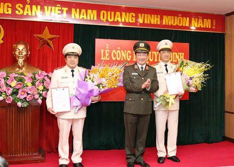 Dieu dong, bo nhiem 2 dong chi Pho Tong cuc truong Tong cuc Canh sat - Anh 1