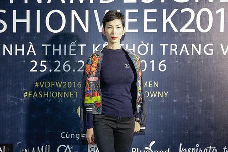 Dan sao Viet 'nao loan' tham do Vietnam Designer Fashion Week Fall - Winter 2016 - Anh 10