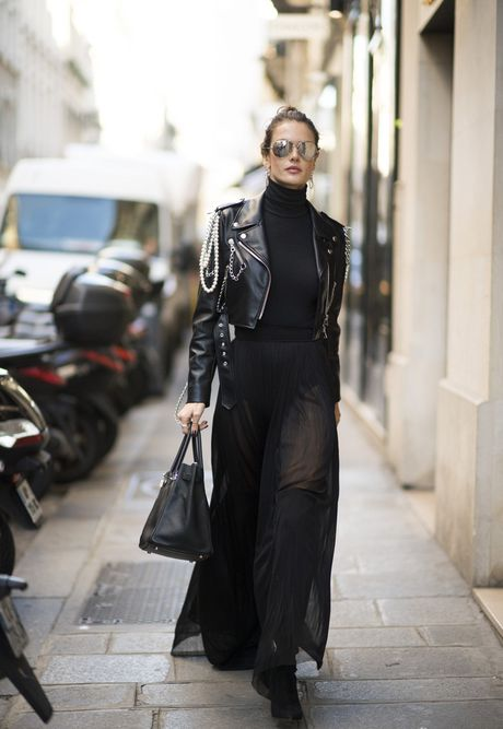 'Chan dai' Alessandra Ambrosio sanh dieu tren duong pho Paris - Anh 6