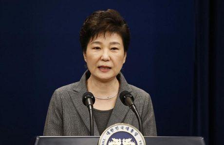 Tong thong Han Park Geun-hye bo ngo kha nang tu chuc - Anh 1