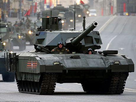 Phuong Tay can 20 nam de tao ra xe tang ngang T-14 Armata? - Anh 1