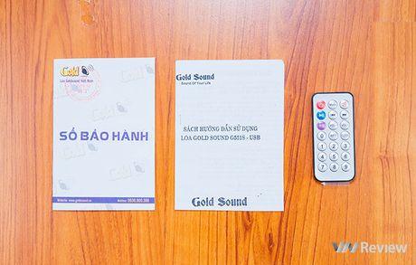 Danh gia phien ban loa GoldSound G551s-USB moi: nang cap manh ve bass - Anh 2
