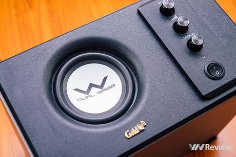 Danh gia phien ban loa GoldSound G551s-USB moi: nang cap manh ve bass - Anh 4