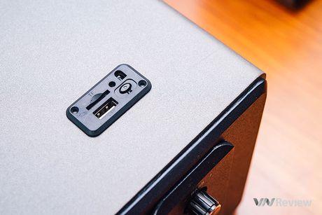 Danh gia phien ban loa GoldSound G551s-USB moi: nang cap manh ve bass - Anh 6