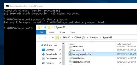 Cach kiem tra suc khoe pin cua laptop va tablet tren Windows 10 - Anh 2