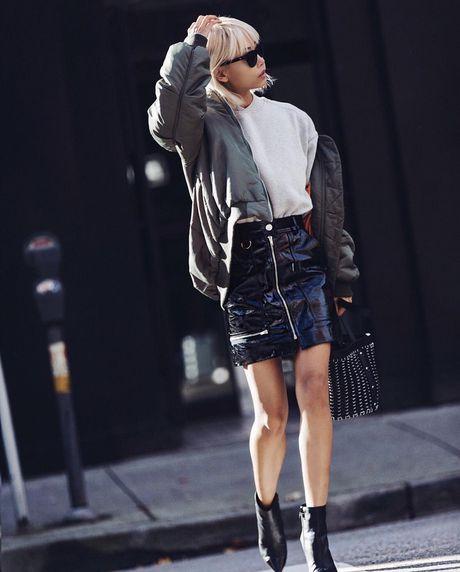 Instagram tuan qua: Mix ao choang sanh dieu cho mua dong - Anh 7