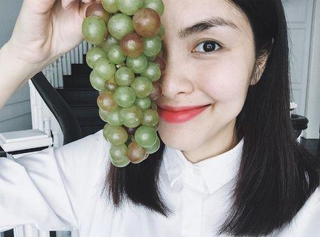 Tang Thanh Ha khoe rau, qua tuoi ngon trong vuon cua ba - Anh 2