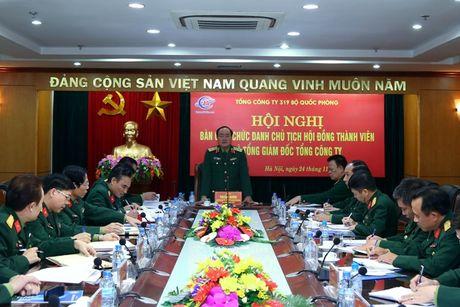 Dai ta Phung Quang Hai thoi chuc Chu tich HDTV Tong cong ty 319 - Anh 1