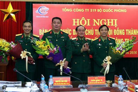 Dai ta Phung Quang Hai thoi chuc Chu tich HDTV Tong cong ty 319 - Anh 2