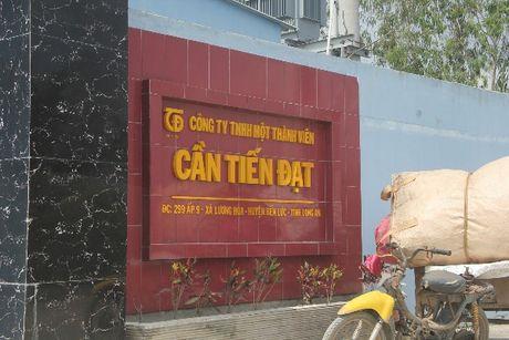 """Ky I: """"Choang"""" vi Cong ty Can Tien Dat gay o nhiem moi truong - Anh 1"""