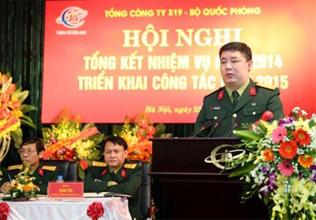 Dai ta Phung Quang Hai thoi chuc Chu tich TCT 319 - Anh 1