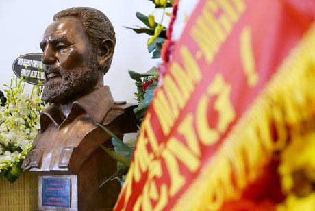 Nuoc mat va hoa vieng Fidel Castro o Ha Noi - Anh 7