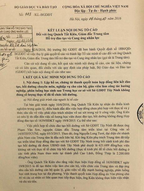 Giam doc Trung tam Ho tro dao tao va Cung ung nhan luc 'ne' tra loi vu bi can bo nhan vien to cao - Anh 2