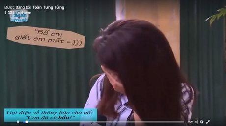 1001 phan ung cua phu huynh khi ban thong bao 'con da co bau' - Anh 1