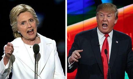 Trump thuc giuc chinh phu nuoc ngoai dieu tra Clinton - Anh 1