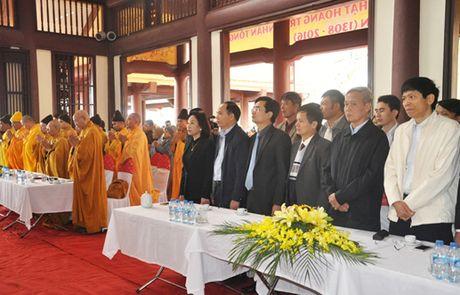 Tuong niem 708 nam Phat hoang Tran Nhan Tong nhap niet ban - Anh 2