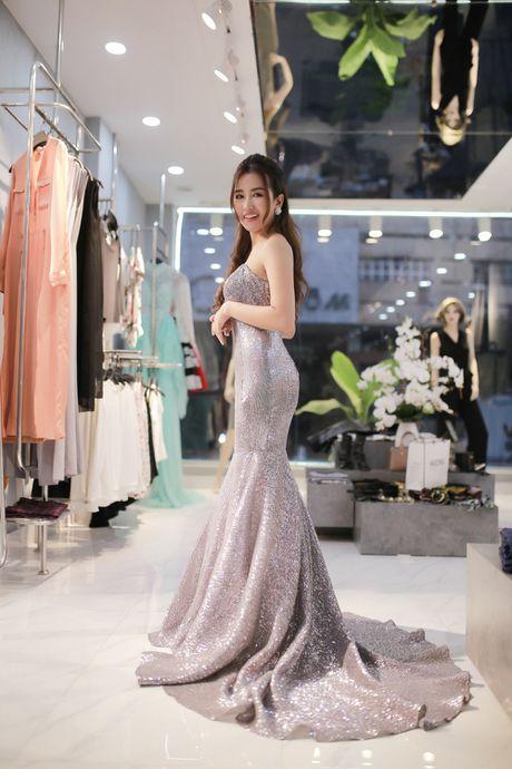 Trang Moon xinh dep truoc gio sang Han tham du le trao giai - Anh 5