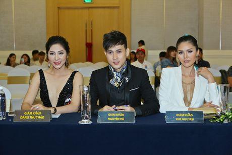Nguyen Vu be bong Khanh Ngan o su kien - Anh 3