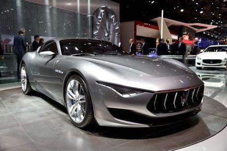 Maserati san xuat sieu xe dien canh tranh Tesla - Anh 1