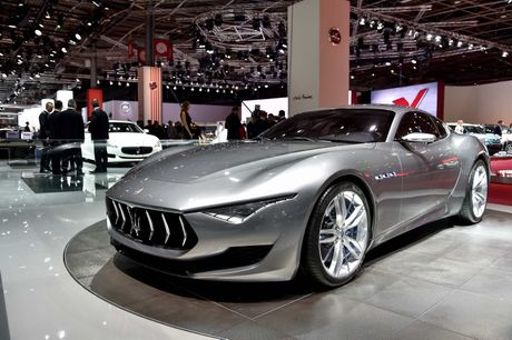 Maserati san xuat sieu xe dien canh tranh Tesla - Anh 4