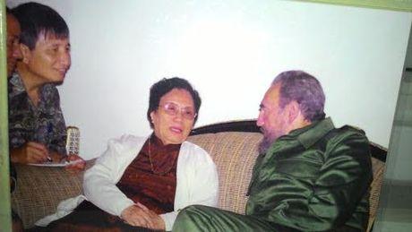 Nhung lan duoc gap Fidel - Anh 1