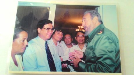 Nhung lan duoc gap Fidel - Anh 2