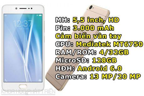 Smartphone camera selfie 20 MP cua Vivo sap len ke voi gia 5,99 trieu - Anh 1