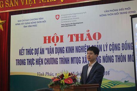 Bai hoc xay dung nong thon moi cua Bo Nong nghiep - Anh 1