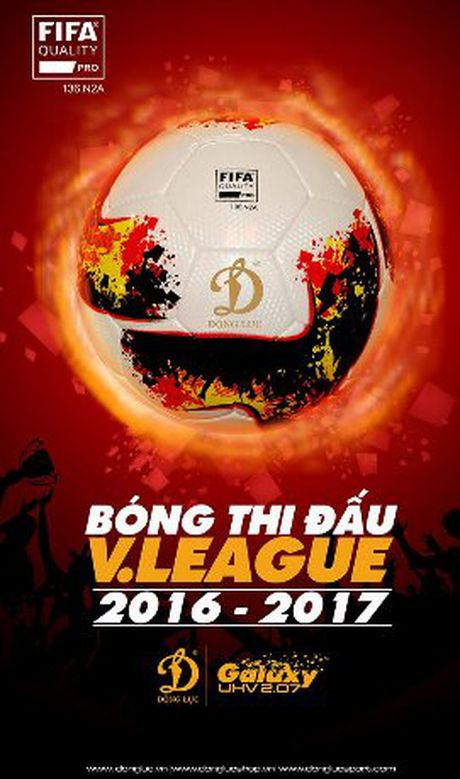 Mau bong moi cua V.League 2017 khien nguoi ham mo phat sot - Anh 1