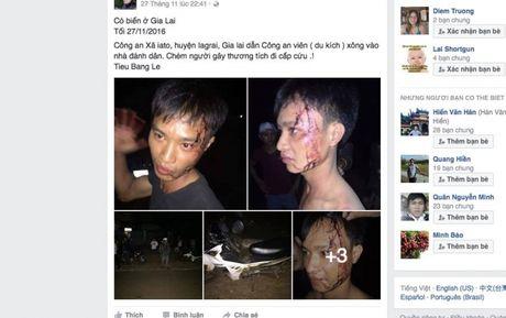 Gia Lai: Dang dieu tra vu cong an xa bi to chem trai lang - Anh 1
