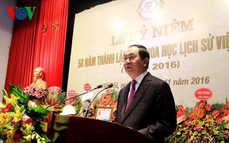 Hoi Khoa hoc lich su Viet Nam nhan Huan chuong Lao dong hang Nhat - Anh 1