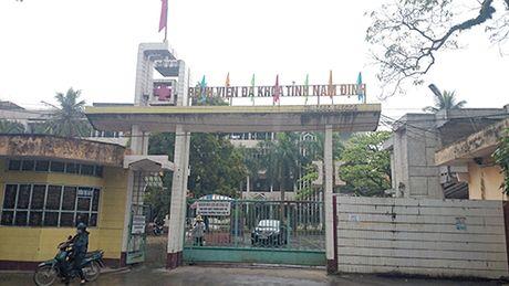 Ket luan ve viec benh nhan tu vong do cat amidan tai Nam Dinh - Anh 1