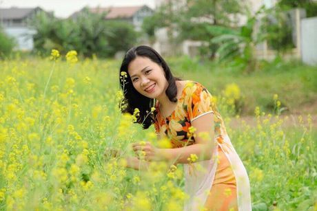 Ngo ngang voi canh dong hoa cai vang ruc ro dep bac nhat Viet Nam - Anh 5