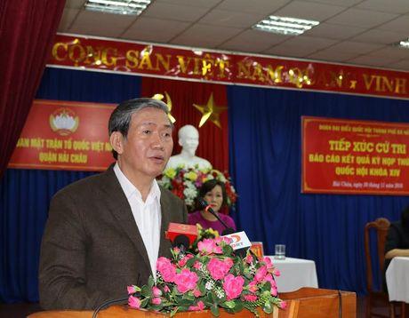 Ong Dinh The Huynh: Giam sat ky NM thep thuong nguon song Vu Gia-Thu Bon - Anh 1