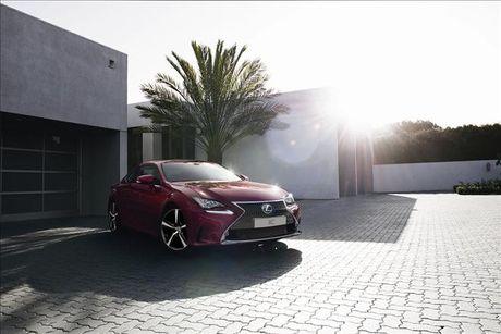 Lexus RC Turbo 2017 ban tai Viet Nam co gia gan 3 ty dong - Anh 1