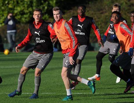 Chum anh: Lucas Perez tro lai, Arsenal san sang dau Southampton - Anh 4
