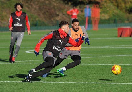Chum anh: Lucas Perez tro lai, Arsenal san sang dau Southampton - Anh 5