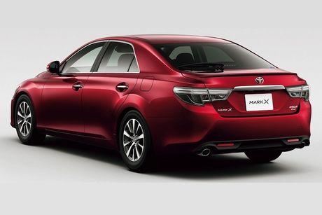 Sedan Toyota Mark X thay the Camry gia tu 560 trieu - Anh 3