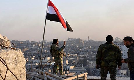 Loat anh chien thang cua Quan doi Syria o Dong Aleppo - Anh 1