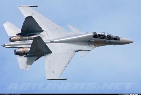 Muc kich F-22, Su-30MKM tap tran hoanh trang o Malaysia - Anh 10