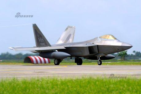Muc kich F-22, Su-30MKM tap tran hoanh trang o Malaysia - Anh 3