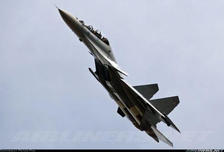Muc kich F-22, Su-30MKM tap tran hoanh trang o Malaysia - Anh 9