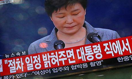 Han Quoc: Hoi du so phieu luan toi Tong thong Park Geun-hye - Anh 1
