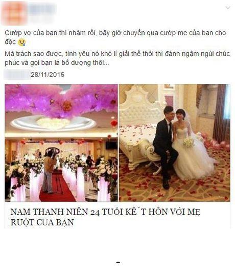 Thuc hu chuyen chang trai 9X cuoi me cua ban than - Anh 1