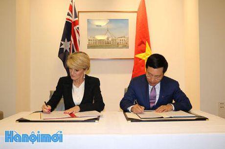 Viet Nam – Australia ky ket Ke hoach hanh dong giai doan 2016-2019 - Anh 1
